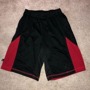 Boys Jordan Shorts Black/Red